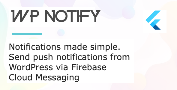 Documentation for WP Notify Flutter