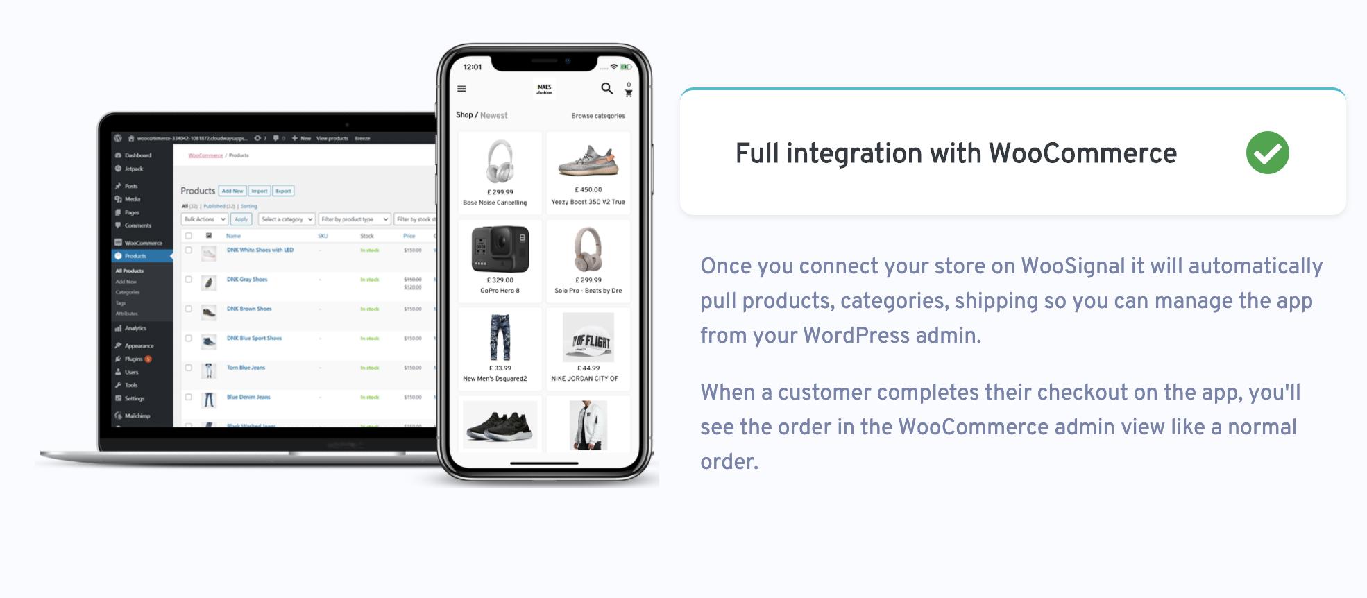 WooMobile - modelo de aplicativo Flutter WooCommerce para IOS e Android - 3