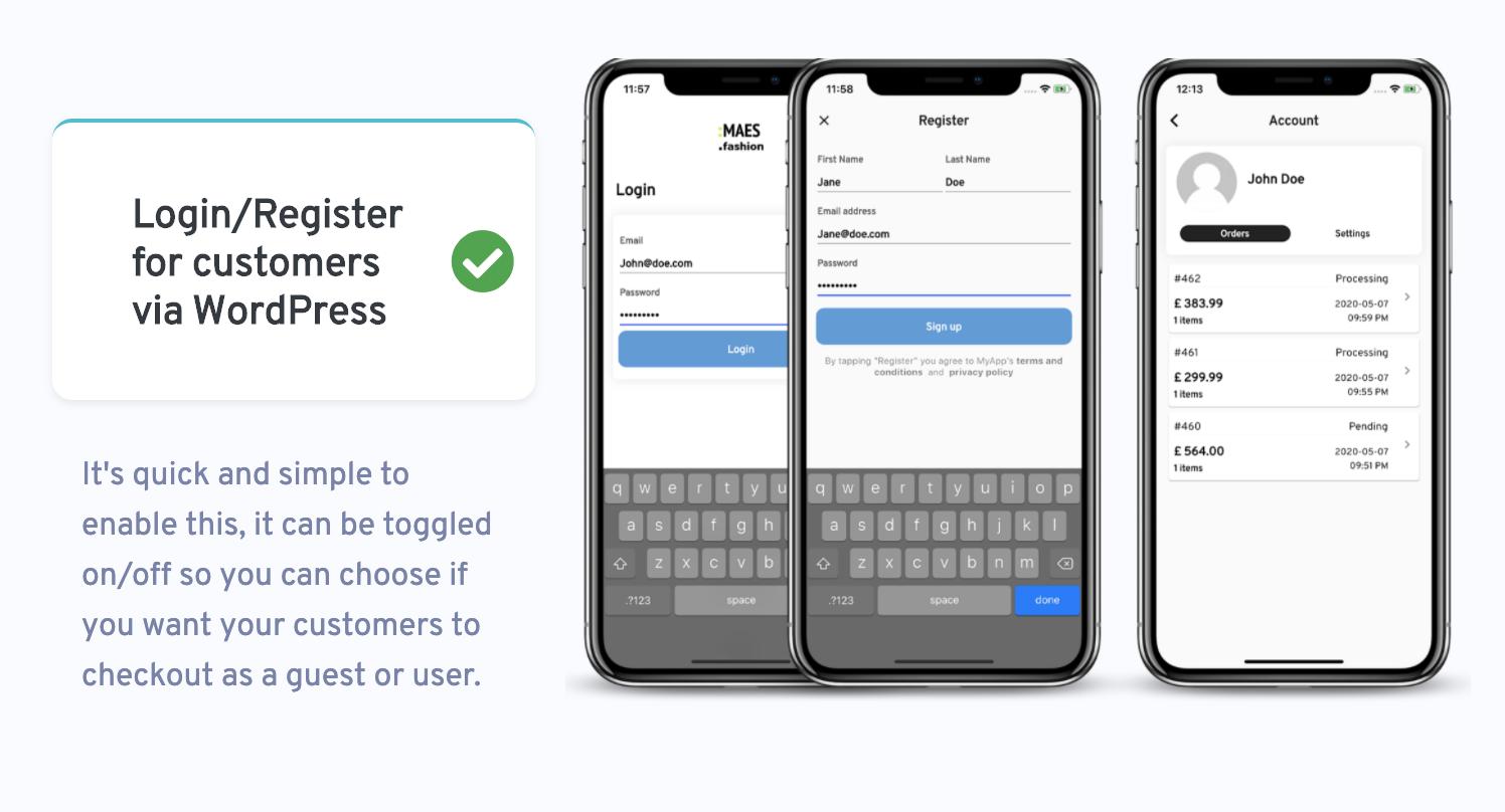 WooMobile - modelo de aplicativo Flutter WooCommerce para IOS e Android - 2