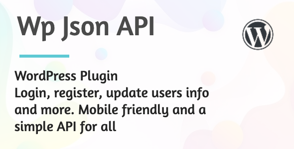 Documentation for WP JSON API WordPress